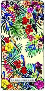 DigiPrints Designer Back Cover for Gionee F103 Pro-Multicolor