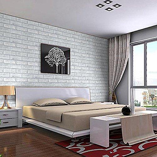 Yazi papel pintado adhesivo extra ble autoadhesivo de - Papel de pared moderno ...