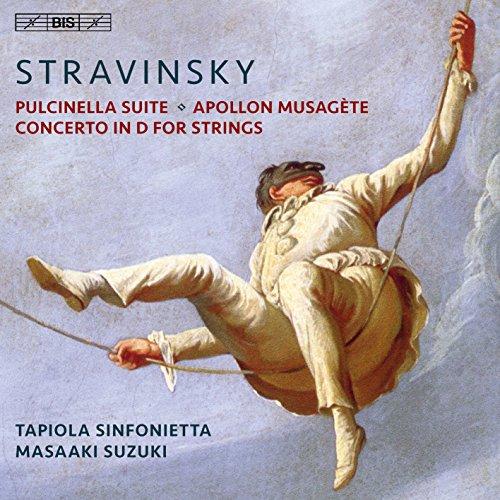 ストラヴィンスキー : バレエ組曲 「プルチネッラ」 | バレエ音楽 「ミューズを率いるアポロ」 | 弦楽のための協奏曲 ニ調 (Stravinsky : Pulcinella Suite | Apollon Musagete | Concerto in D for Strings / Tapiola Sinfonietta | Masaaki Suzuki) [SACD Hybrid] [輸入盤] [日本語帯・解説付]