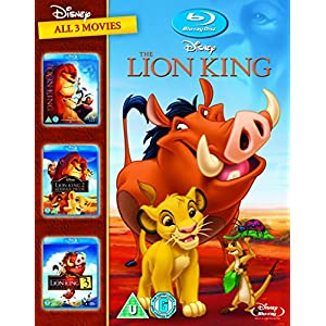 The Lion King 1-3 boxset [Blu-ray] [Import anglais]