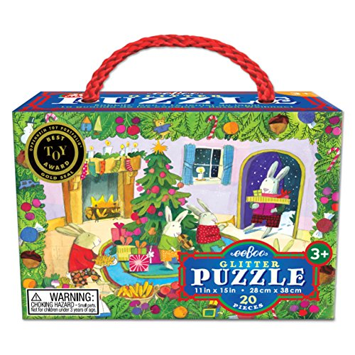 Rabbits' Den 20 Piece Puzzle