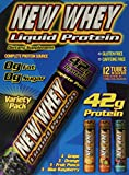 New Whey Liquid Protein 42 grams, Variety Pack, 3.8 Ounce Tubes (12 Count)