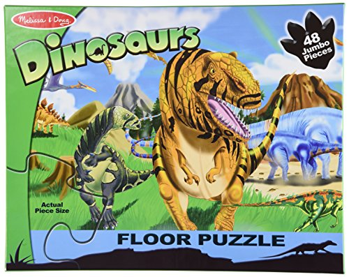 Melissa & Doug Land of Dinosaurs Floor (48 pc) Puzzle