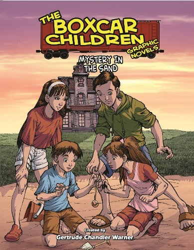 Mystery in the Sand: A Graphic Novel (Boxcar Children Graphic Novels #18)