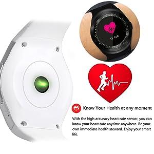 Smart Watch Fitness Tracker Heart Rate Blood Pressure
