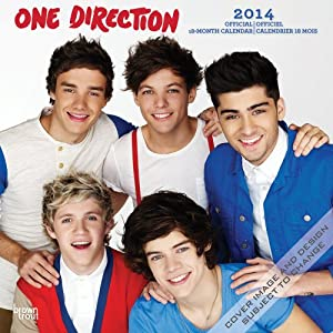 One Direction (French-English) 2014 Wall Calendar by BrownTrout