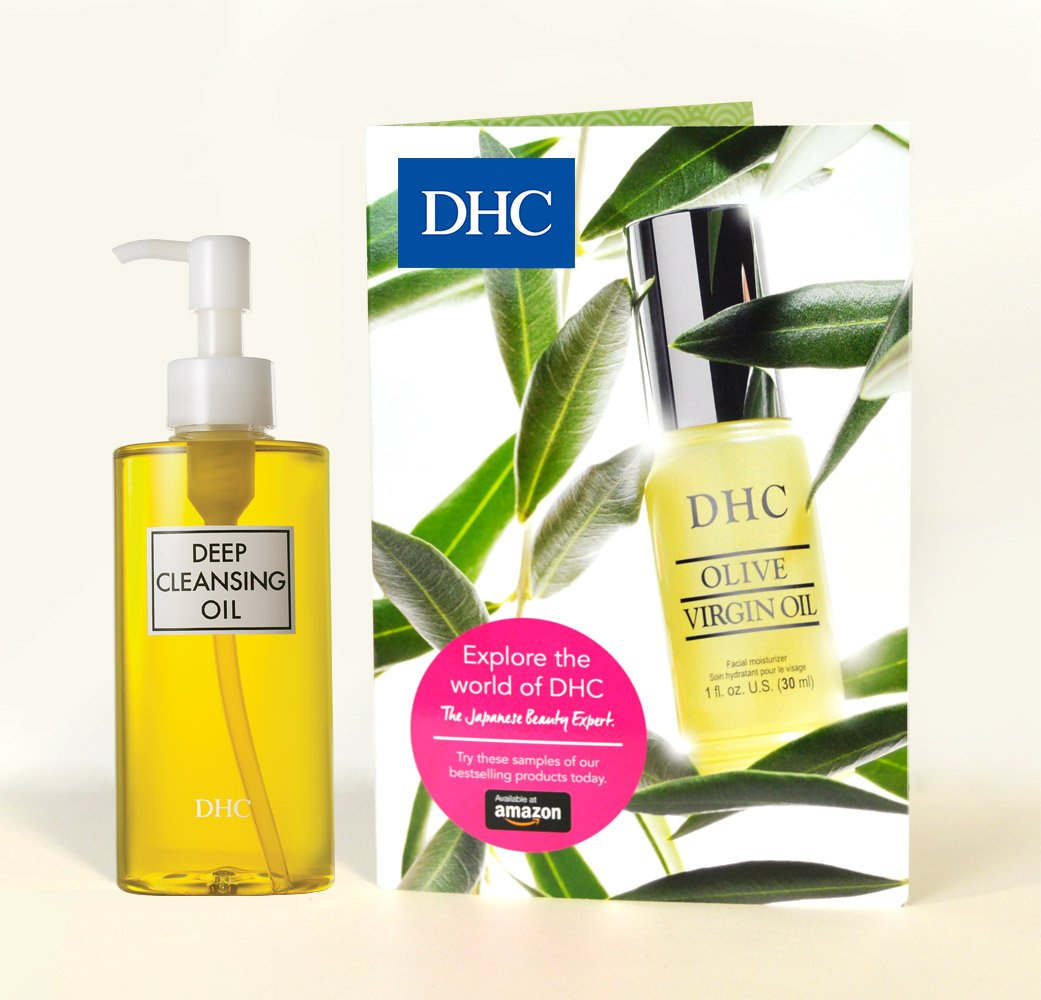 DHC Deep Cleansing Oil + Bestsellers Beauty Book