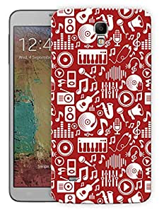 "Humor Gang Music Is My Life Printed Designer Mobile Back Cover For ""Samsung Galaxy Mega 6.3"" (3D, Matte, Premium Quality Snap On Case)"