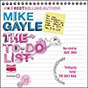 The To Do List Audiobook by Mike Gayle Narrated by Dave John