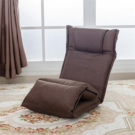 Letto divano letto Divano pieghevole in tatami Divano letto singolo Tempo libero Schienale reclinabile Rimovibile e lavabile , 6