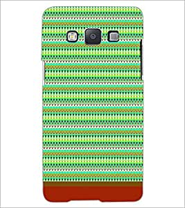 PrintDhaba Tribal Pattern D-1720 Back Case Cover for SAMSUNG GALAXY E5 (Multi-Coloured)