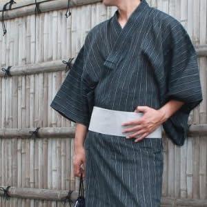 浴衣 腰帯 帯 下駄 巾着 5点セット 全12種類 男性浴衣【麻混】/oth-ms-yu-1187