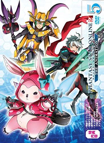 ファンタシースターオンライン2 ジ アニメーション 5 DVD初回限定版
