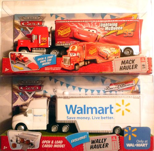 Mattel Disney Pixar Cars 155 Rare Bundle - Mack Lightning Ha