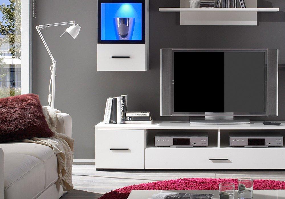 kleines schlafzimmer in weiss. Black Bedroom Furniture Sets. Home Design Ideas