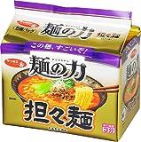 サッポロ一番 麺の力 担々麺 5食P×6個