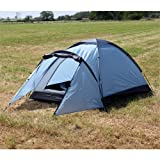 North Gear Camping Mono 2 Man Waterproof Tent Blue