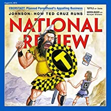 National Review, August 24, 2015 (       UNABRIDGED) by National Review Narrated by Mark Ashby
