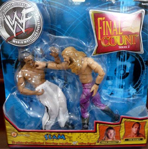 "Buy Low Price Jakks Pacific the ROCK vs. CHRIS JERICHO WWE WWF Final Count 2 ""Slam"" Figures (B004X27RGG)"