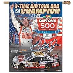 Dale Earnhardt Jr Banner vertical flag 27 x 37 by NASCAR