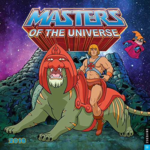 He-Man and the Masters of the Universe 2016 Wall Calendar