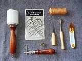 レザークラフト スターターキット 手縫い用工具8点セット