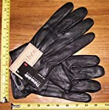 Mens X-Large Leather Gloves with 3M Thinsulate Genuine Leather