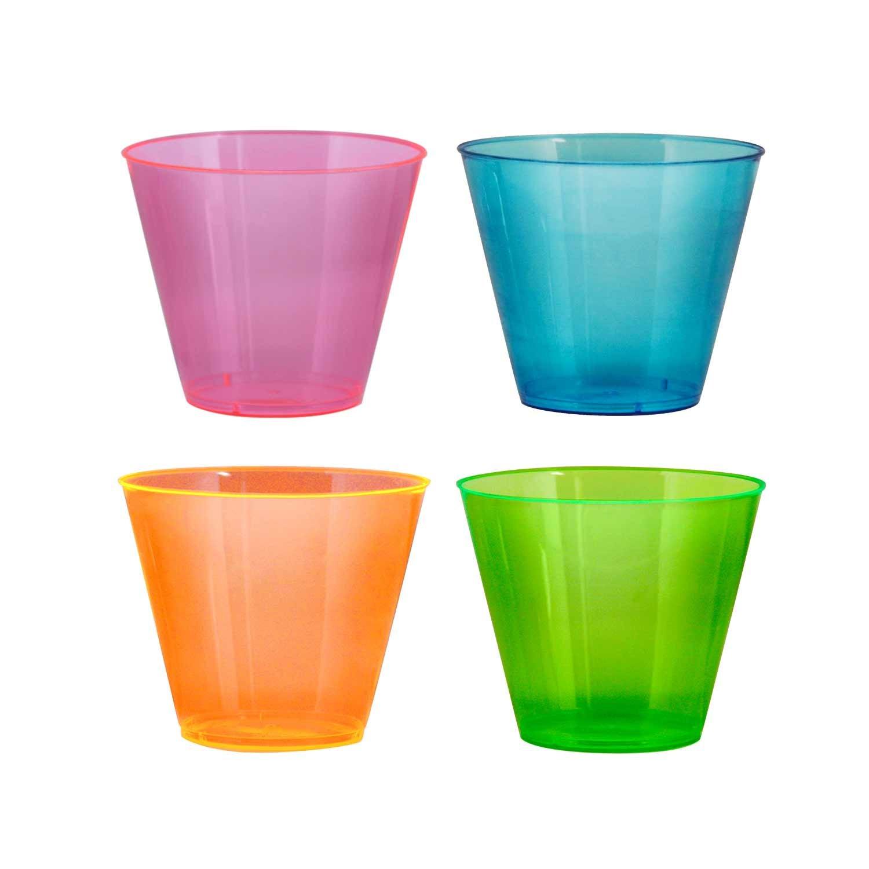NorthWest Enterprises N910090 Party Essentials Brights Plastic