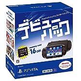 PlayStation Vita デビューパック 3G/Wi-Fiモデル クリスタル・ブラック