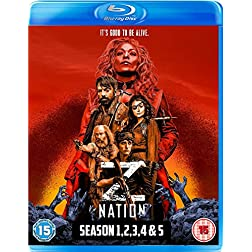 Z Nation: Season 1-2-3-4-5 Box Set [Blu-ray]