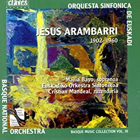 Basque Music Collection, Vol. III: Jesus Arambarri