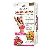 HYLEYS Tea Wellness Tea, Garcinia Cambogia and Cranberry, 25 Count, 1.32 Ounce (Tamaño: 25 Count)