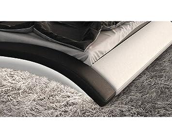 lit design lumineux nassau 140cmx190cm 140cmx190cm sans matelas sans sommier cuisine. Black Bedroom Furniture Sets. Home Design Ideas