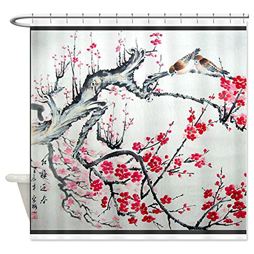 Shower Curtains cherry blossom shower curtains : Cafepress Shower Curtains Shower Curtains Outlet