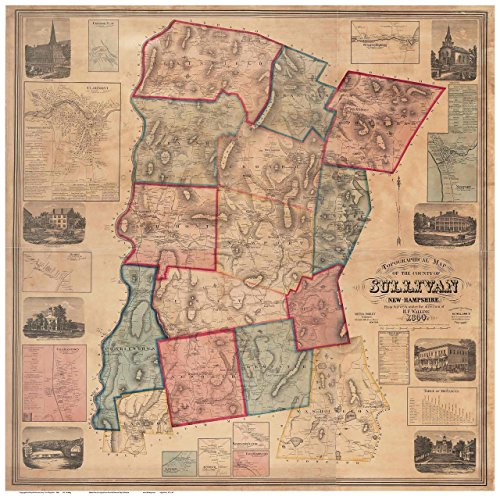 sullivan-county-nh-1860-map-wall-map-reprint-with-homeowner-names-new-hampshire