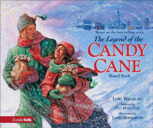 Legend of the Candy Cane Board Book, The