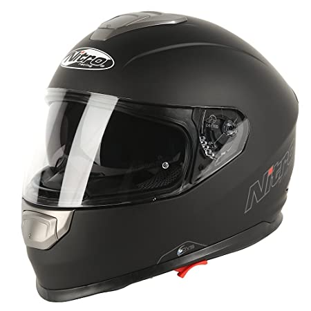 NITRO 108916M02 Casque Moto NP-1100 Apex Noir
