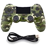 Wireless Controllers for PS4 Playstation 4 Dual Shock Six-axis,Bluetooth Remote Gaming Gamepad Joystick (Green) (Color: Green)
