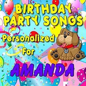 Happy Birthday to Amanda (Amandah, Ammanda)