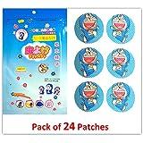 Doraemon - Mosquito Repellent Patch (Pack Of 24 Stickers) Doremon