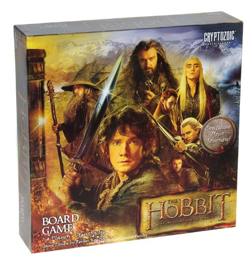 The Hobbit: Desolation of Smaug Board Game - LOTR