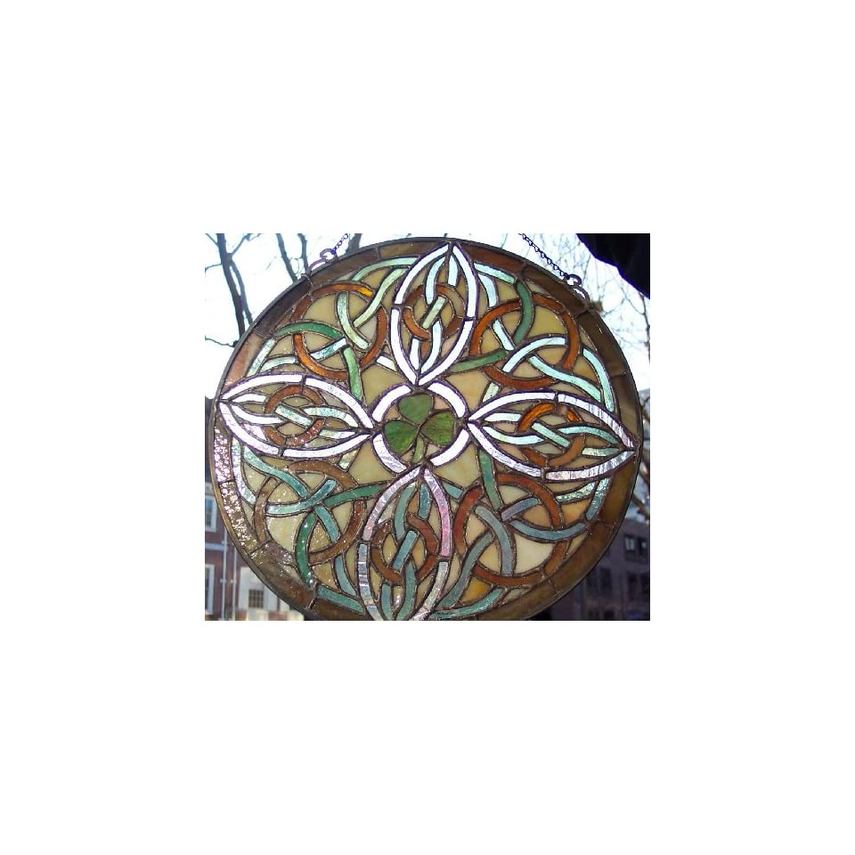 Stained glass window panel 12x12 round 9038 3 on popscreen for 12 round window