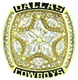 1995 Dallas Cowboys Super Bowl BROWN Championship Ring Size 11 Amazon.com
