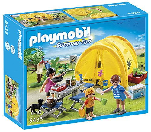 PLAYMOBIL-Family-Camping-Trip-Playset