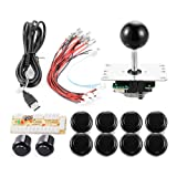 XCSOURCE Zero Delay Arcade Game USB Encoder PC Joystick DIY Kit for Mame Jamma & Other PC Fighting Games AC426