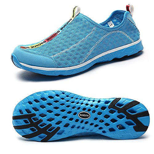 04. Aleader Women's Mesh Slip On Water Shoes