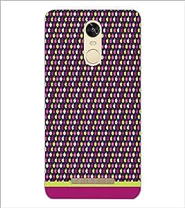 PrintDhaba Pattern D-1643 Back Case Cover for XIAOMI REDMI NOTE 3 (MEDIA TEK) (Multi-Coloured)