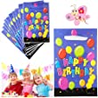 16* Birthday Party Bags Loot Plastic Filler Children's Kid's Party Gift Present 23x15CM Bags