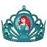 Amscan Girls Enchanting Disney Ariel Dream Big Birthday Electroplated Tiara (Pack of 1), Multicolor, 3 1/