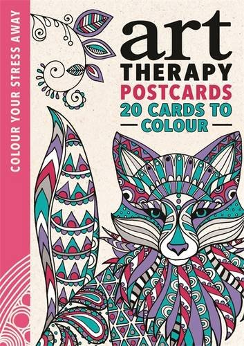 Art Therapy Postcards (Colour Your Stress Away)